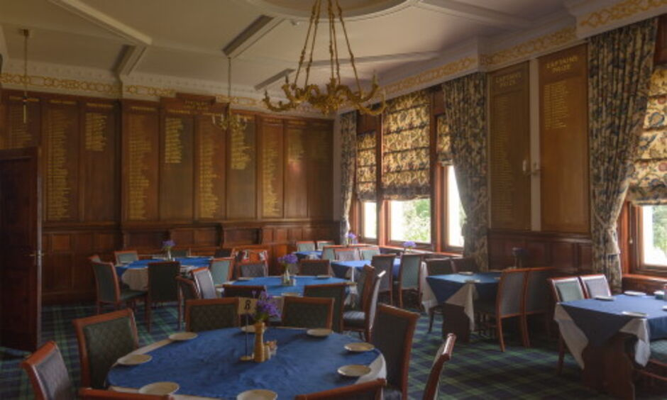 Finchley Golf Club Dining Room
